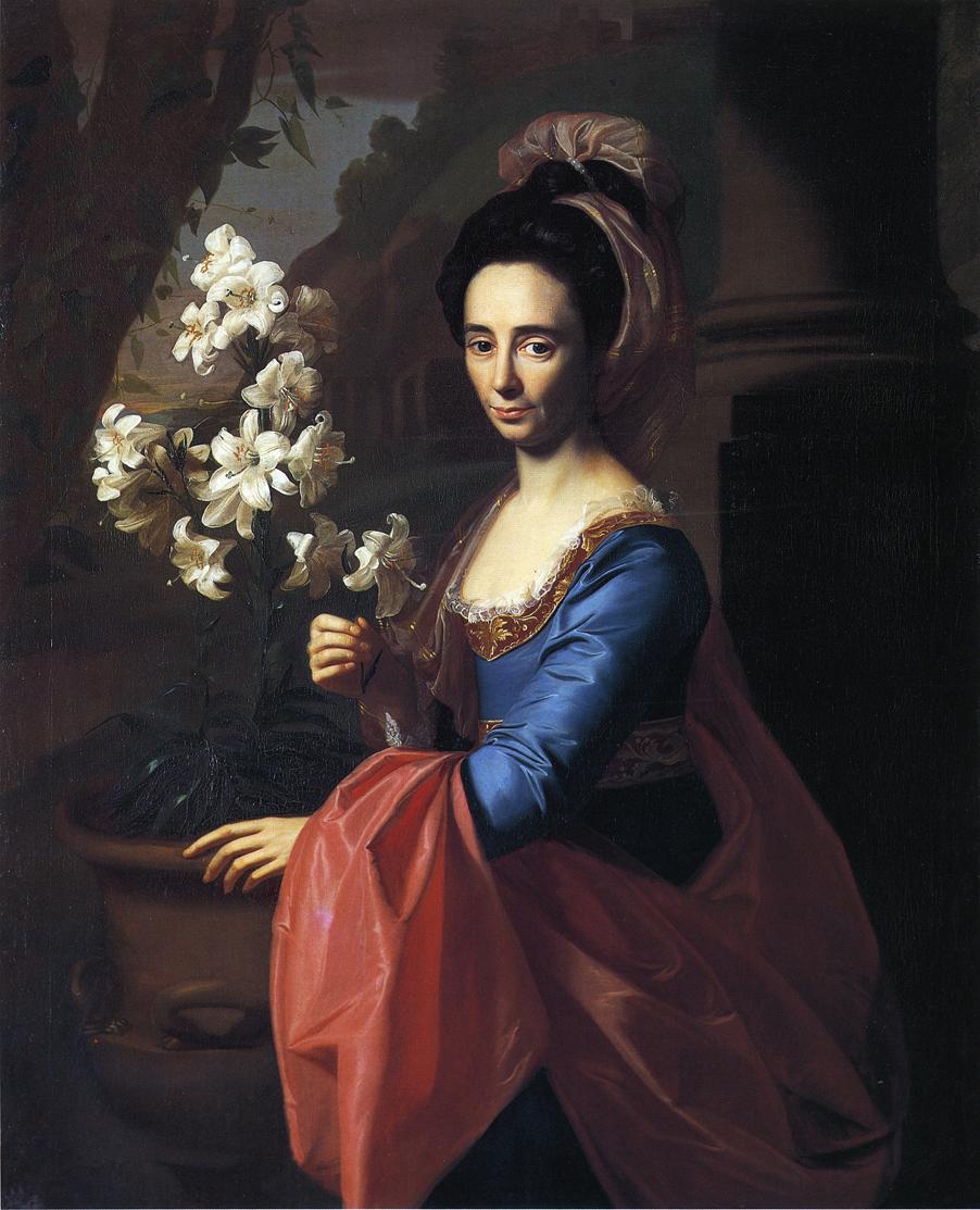 Mrs. Moses Gill (Rebecca Boylston) - John Singleton Copley