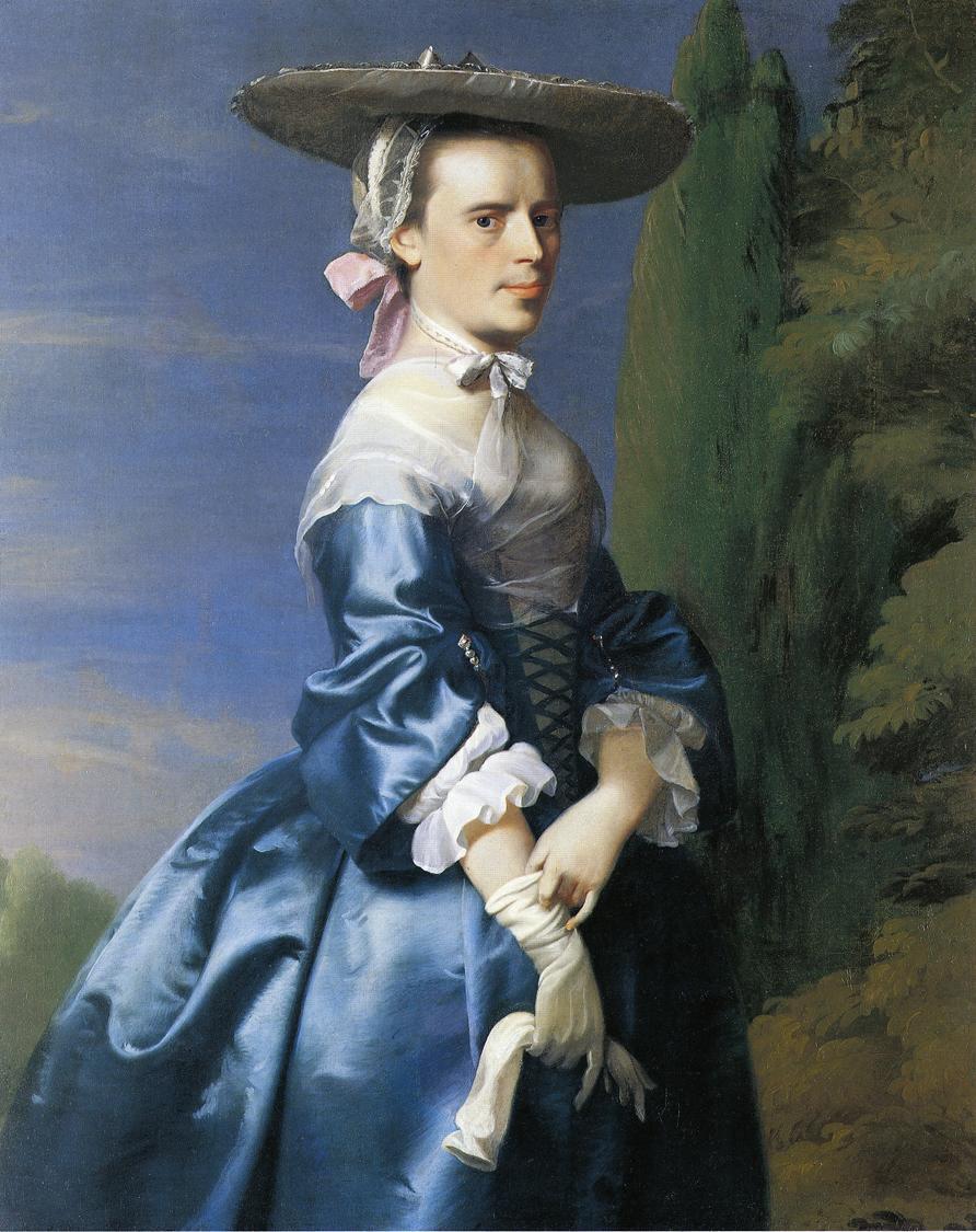Mrs. Nathaniel Allen (Sarah Sargnet) - John Singleton Copley