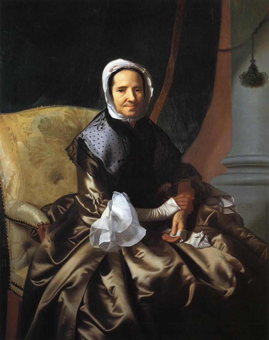 Mrs.Thomas Boylston - John Singleton Copley