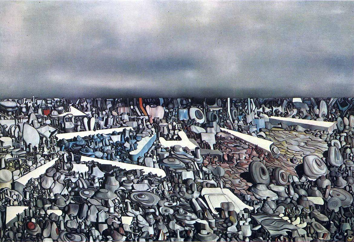 Multiplicatiion of the Arcs - Yves Tanguy