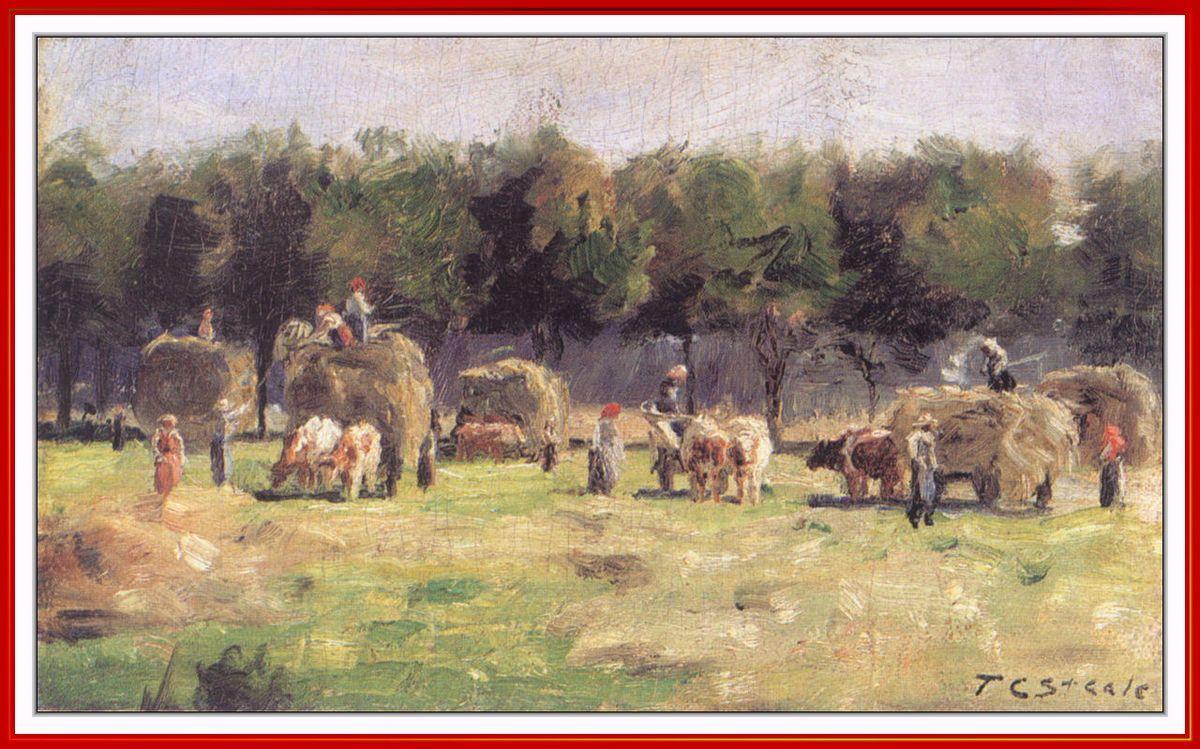 Munich Haying - T. C. Steele