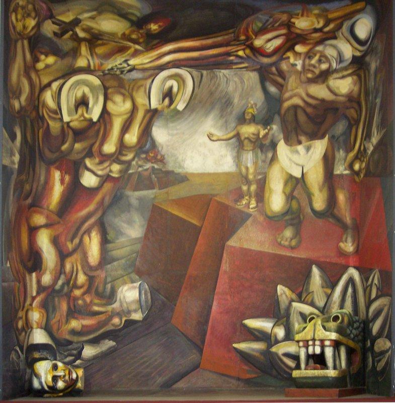 Mural - David Alfaro Siqueiros