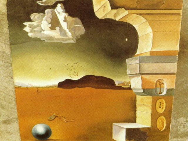 Mural Painting for Helena Rubinstein (panel 2) - Salvador Dali
