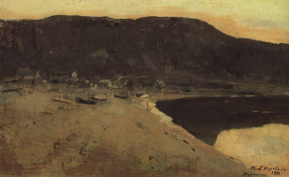 Murmansk coast  - Konstantin Korovin