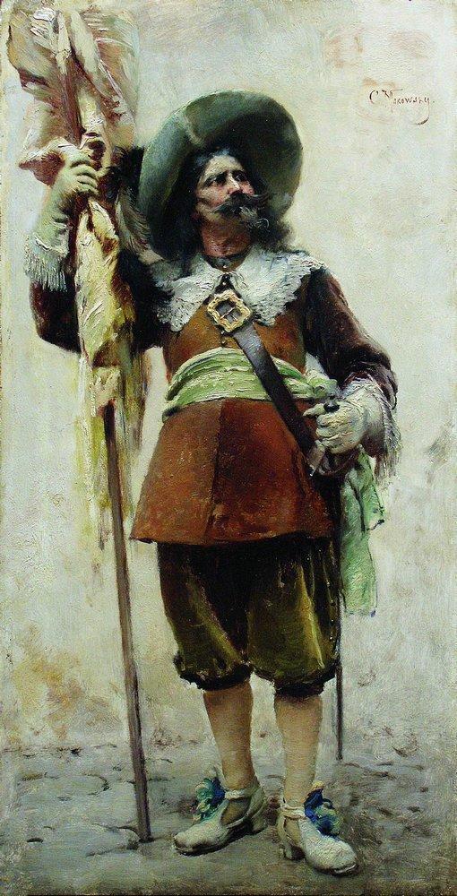 Musketeer - Konstantin Makovsky