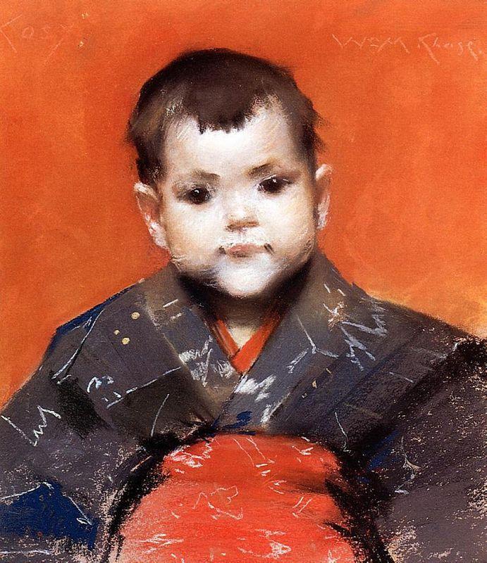 My Baby (Cosy) - William Merritt Chase