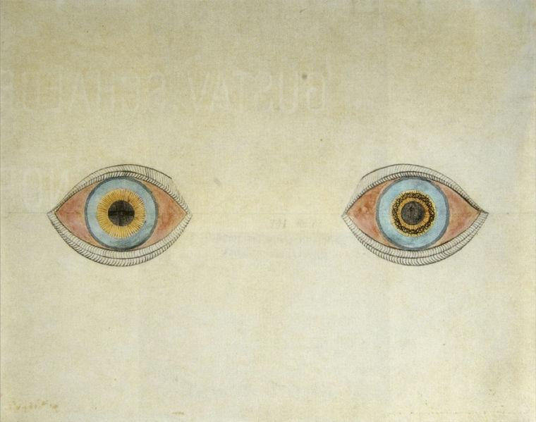 My Eyes in the Time of Apparition - August Natterer