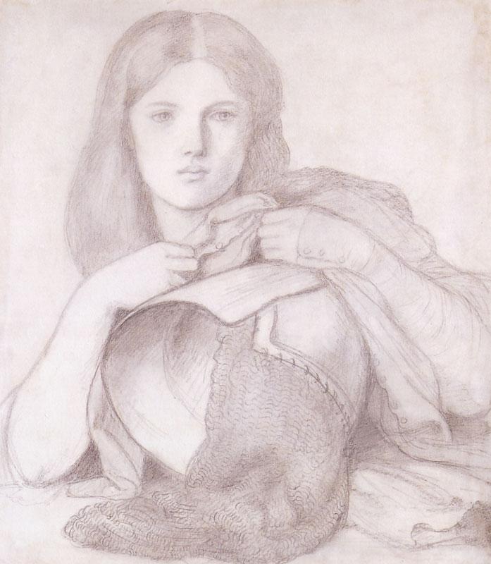 My Lady Greensleeves - Dante Gabriel Rossetti