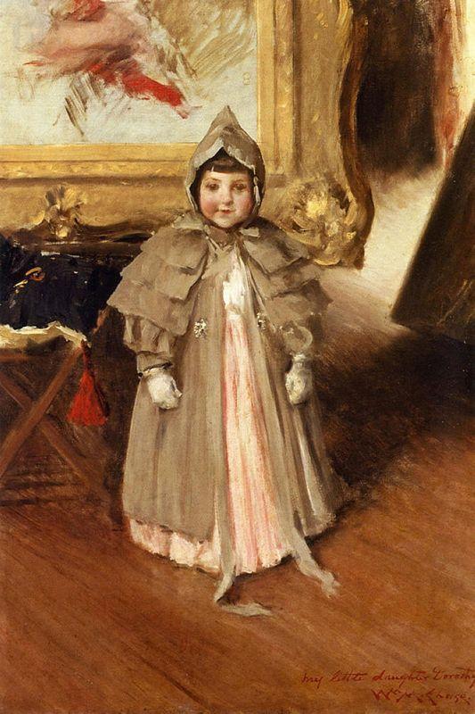 My Little Daughter Dorothy - William Merritt Chase