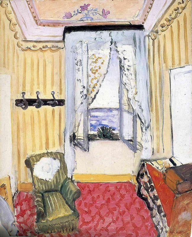 My Room at the Beau-Rivage - Henri Matisse