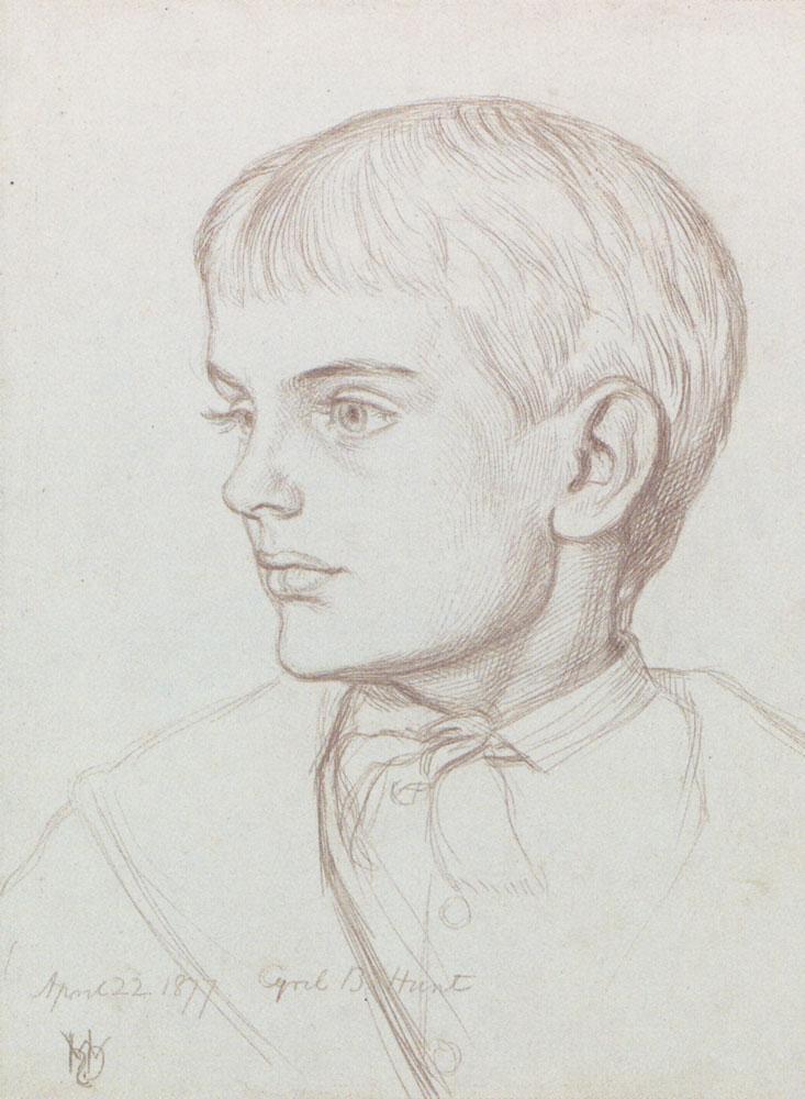My Son Cyril - William Holman Hunt
