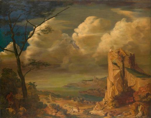 Mythological Landscape  - Alexandre Jacovleff