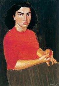 Portrait of a woman  - Nikos Nikolaou