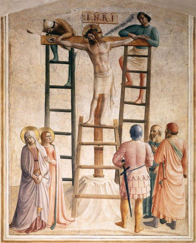 Nailing of Christ to the Cross  - Fra Angelico