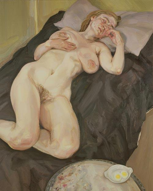 Naked Girl with Egg - Lucian Freud