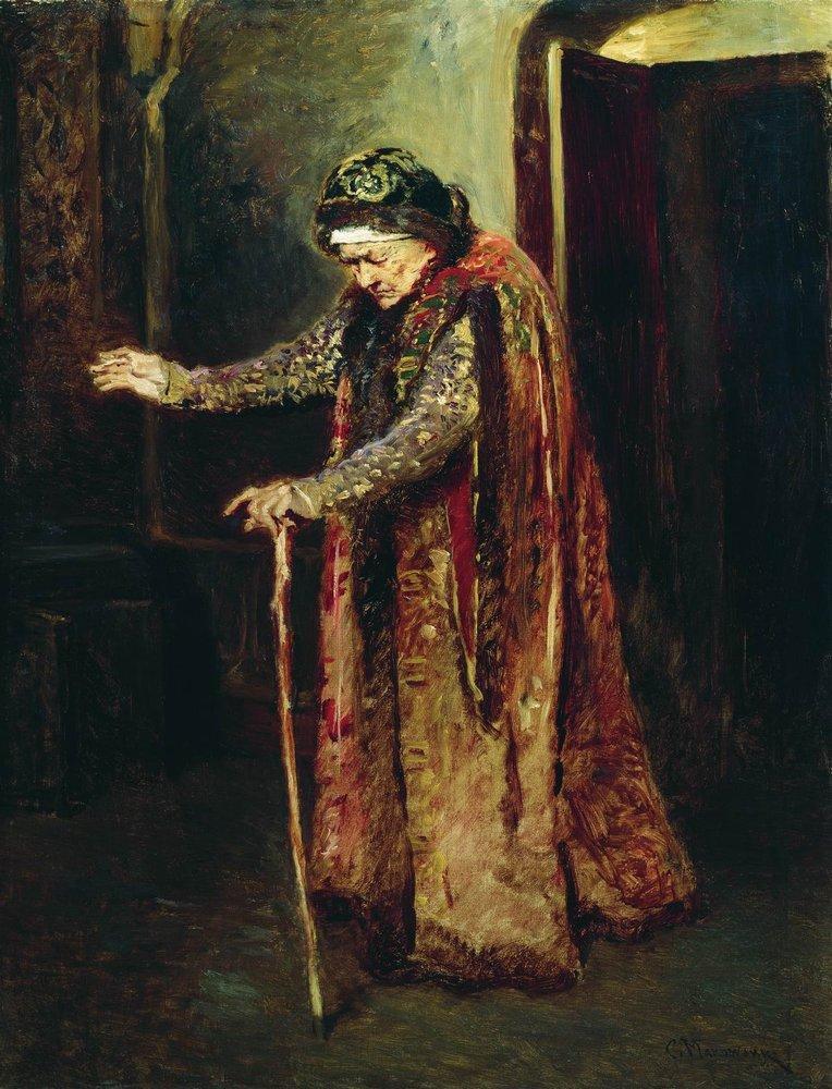 Nanny of Ivan the Terrible - Konstantin Makovsky