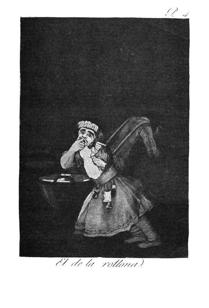 Nanny's boy - Francisco Goya