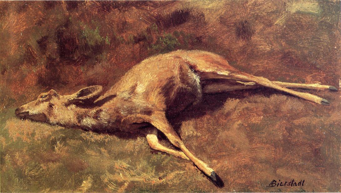 Native of the Woods - Albert Bierstadt
