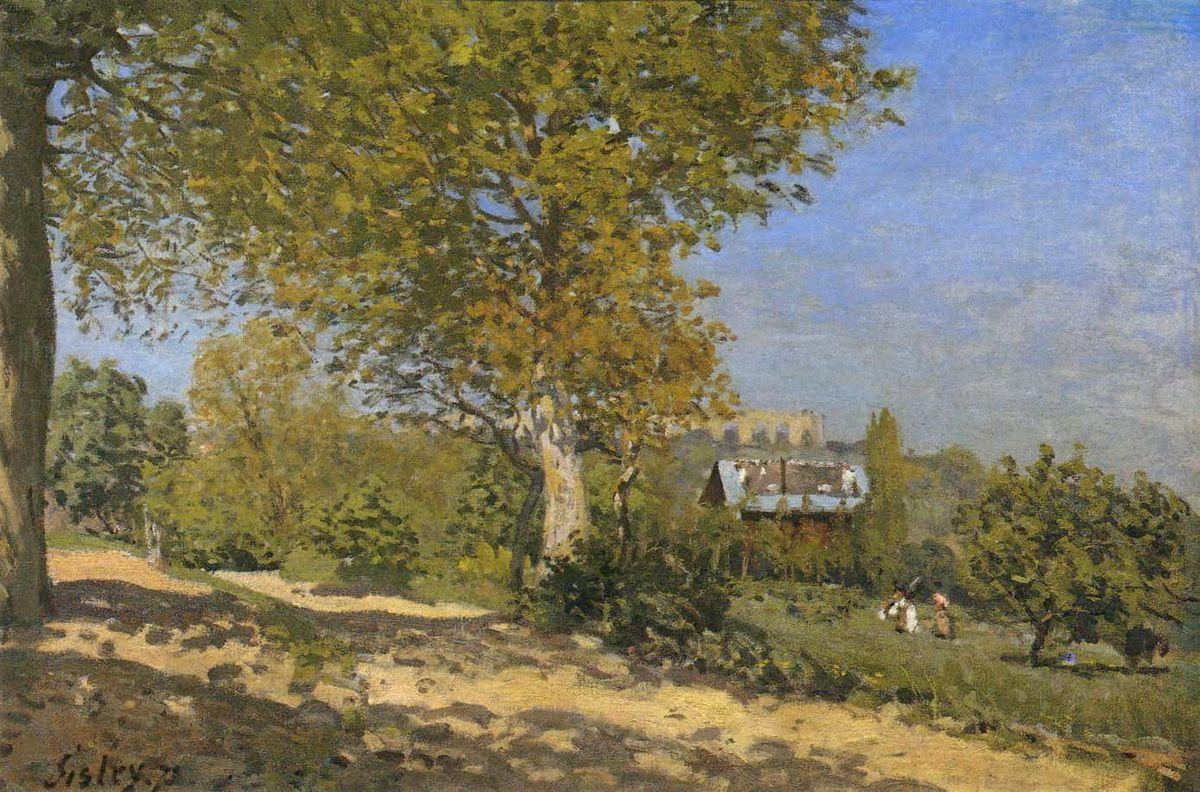Near Louveciennes - Alfred Sisley