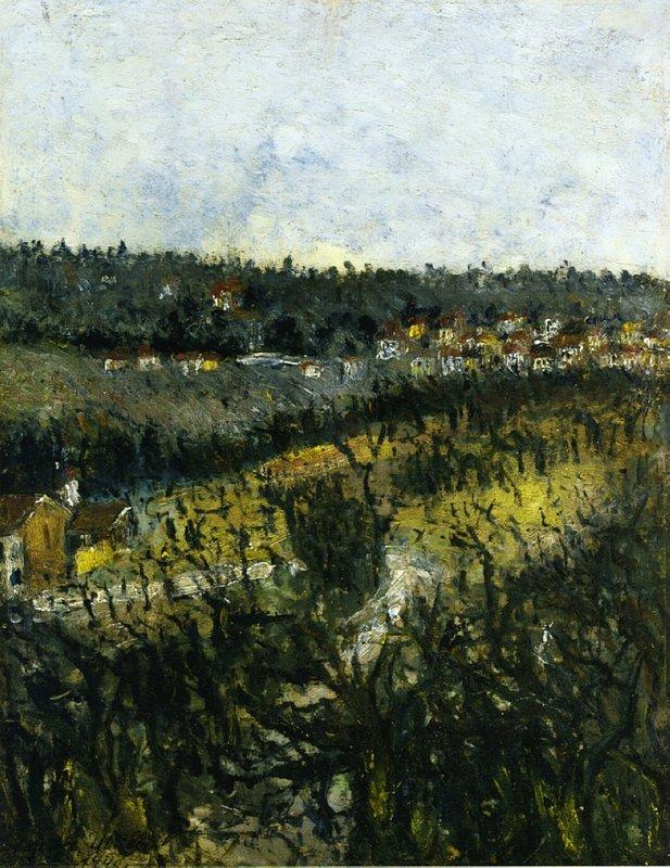 Near Montmagny - Maurice Utrillo