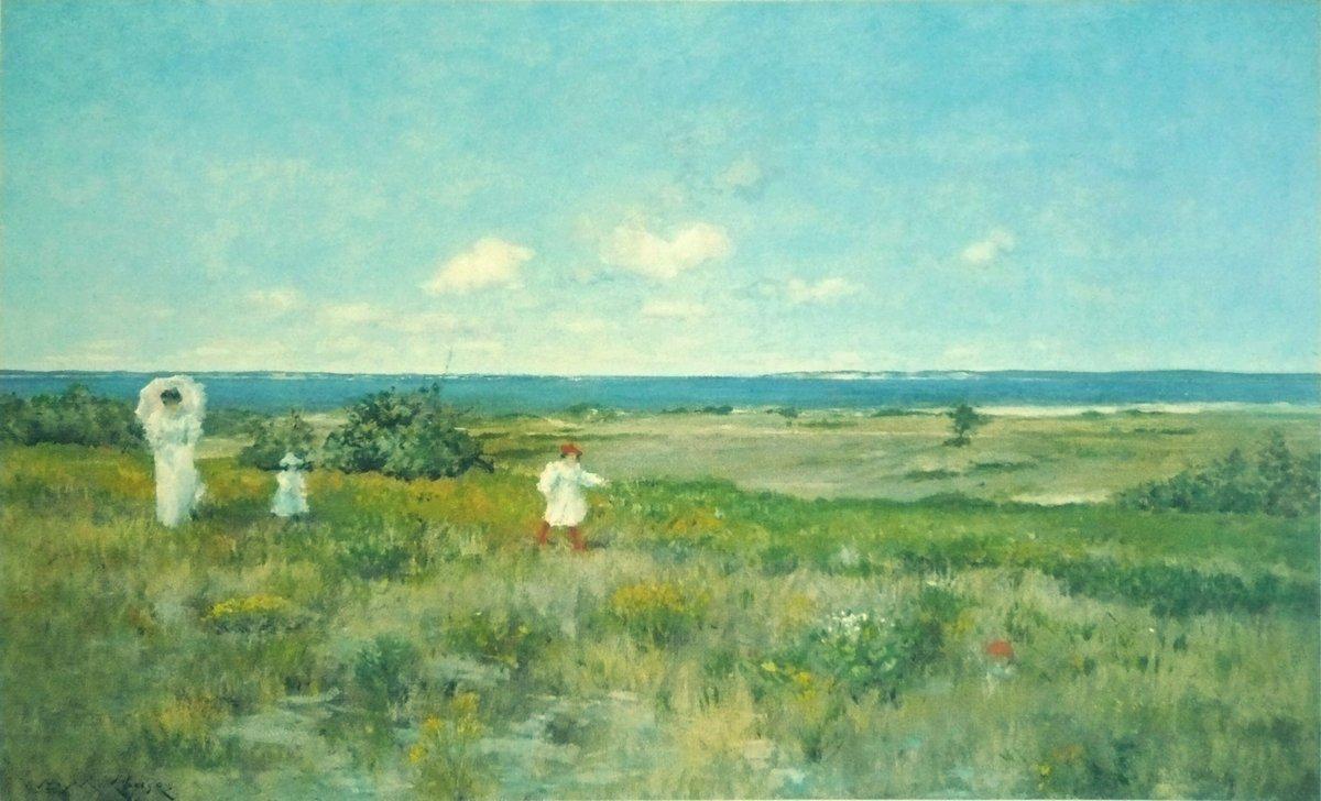Near the beach, Shinnecock - William Merritt Chase