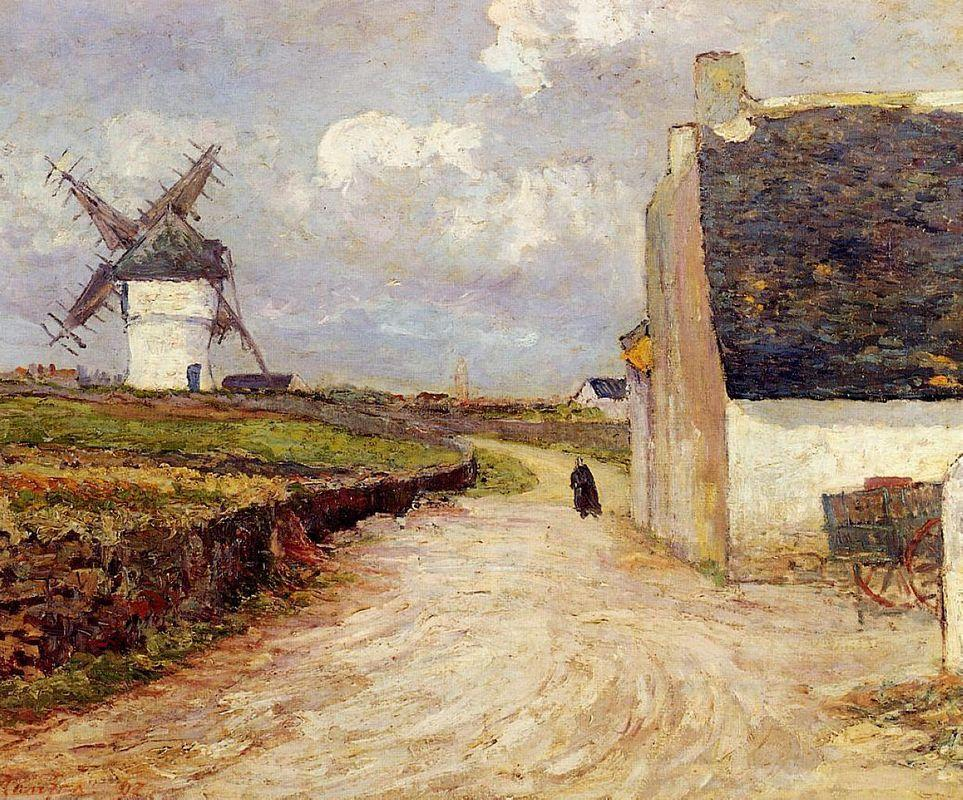 Near the Mill - Maxime Maufra