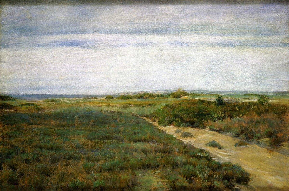 Near the Sea (aka Shinnecock) - William Merritt Chase