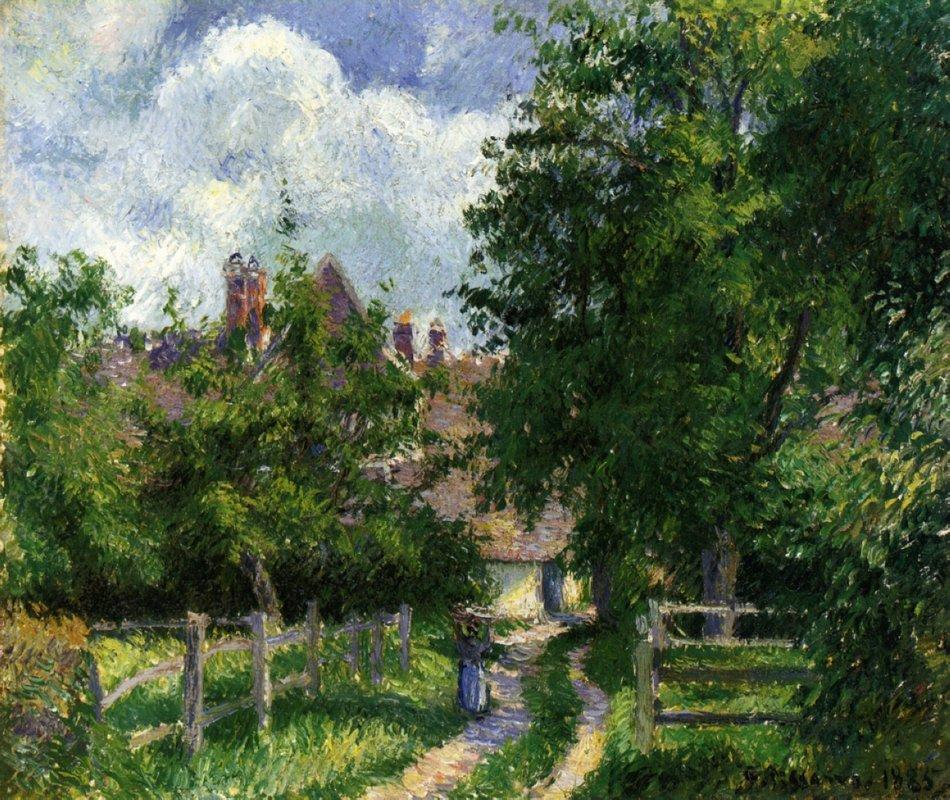 Neaufles Sant Martin, near Gisors - Camille Pissarro