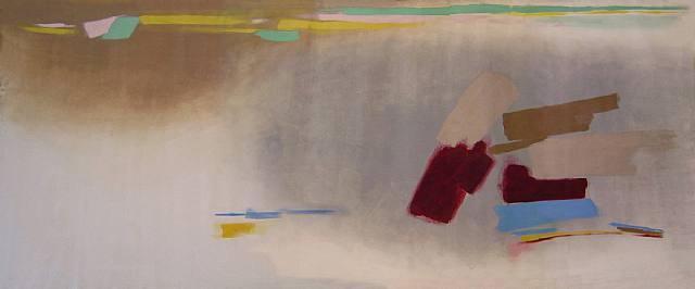 Nebel - Friedel Dzubas