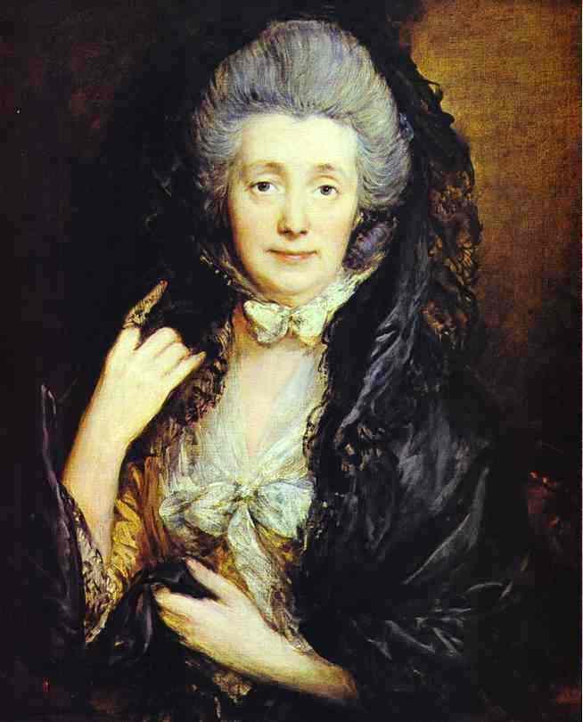 Nee Margaret Burr - Thomas Gainsborough