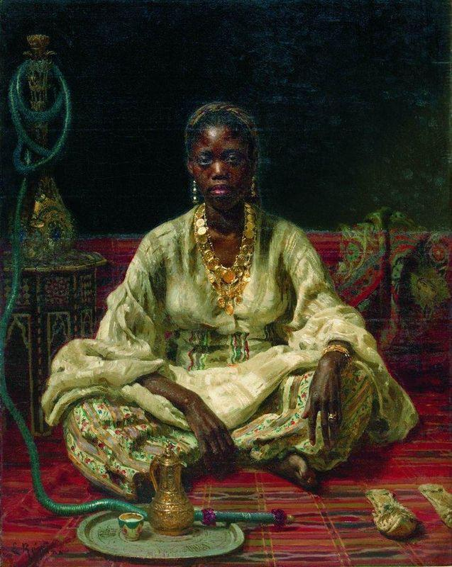 Negress - Ilya Repin
