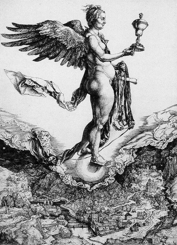 Nemesis (The Great Fortune) - Albrecht Durer