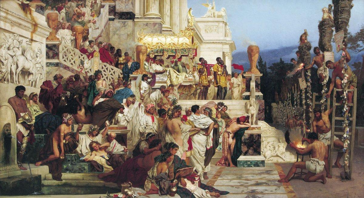 Nero's Torches (Leading Light of Christianity) - Henryk Siemiradzki