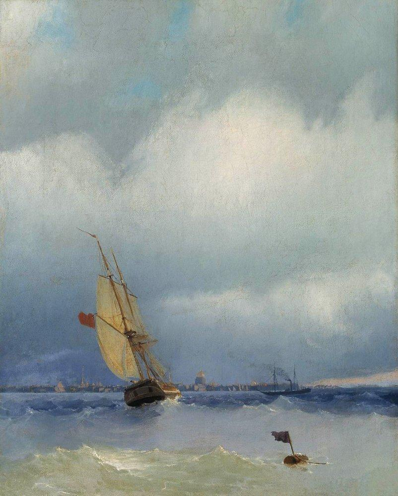 Neva - Ivan Aivazovsky