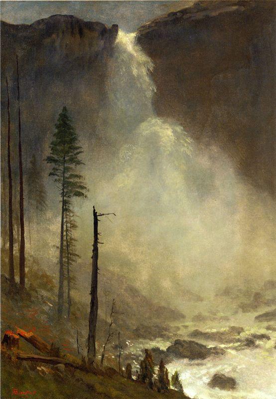 Nevada Falls - Albert Bierstadt