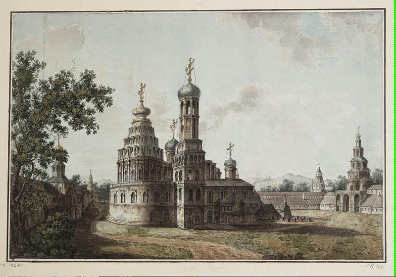 New Jerusalem Monastery - Fyodor Alekseyev