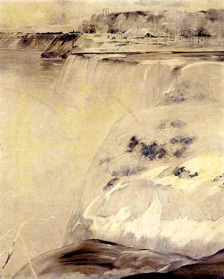 Niagara Falls - Albert Bierstadt
