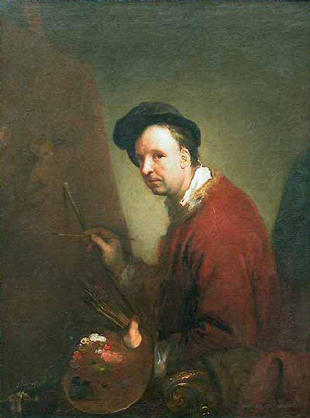 Nicolas Vleughels - Antoine Pesne