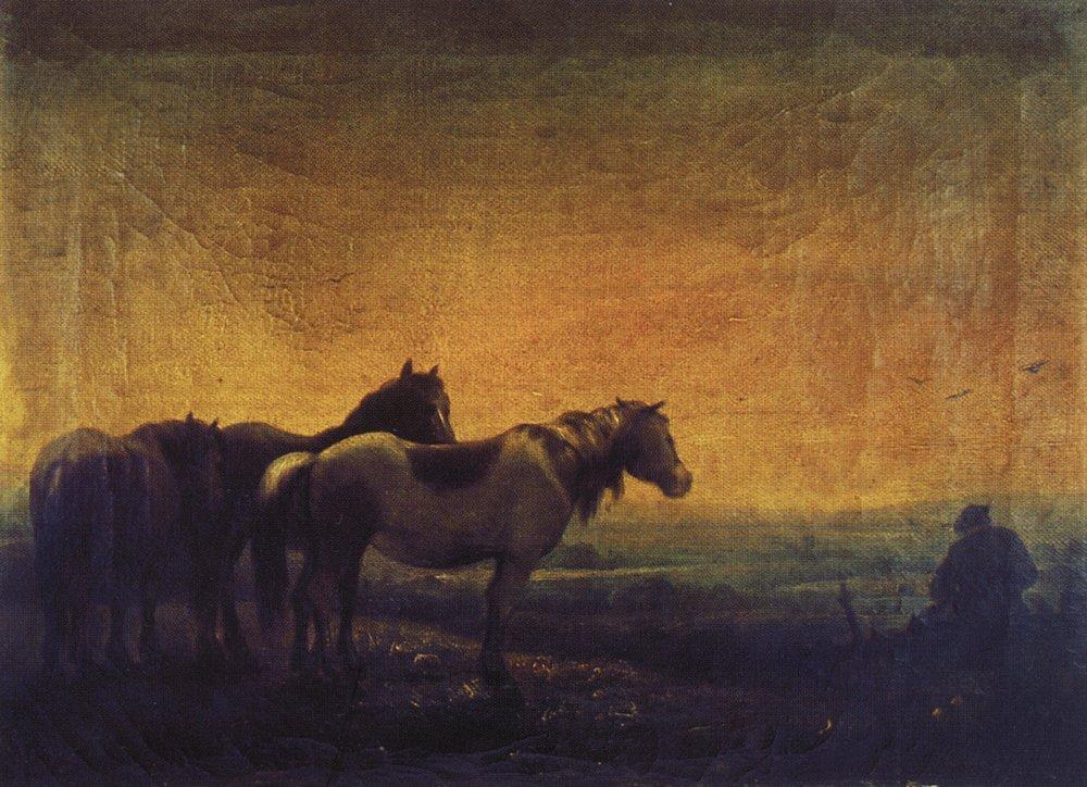 Night - Aleksey Savrasov