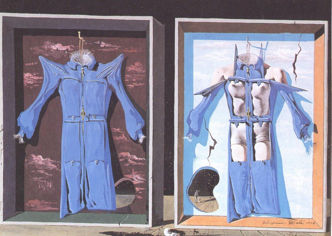Night and Day Clothes of the Body - Salvador Dali