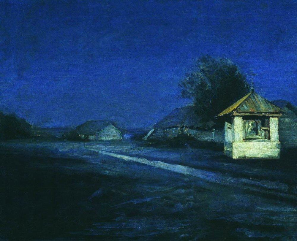 Night Landscape - Arkhip Kuindzhi