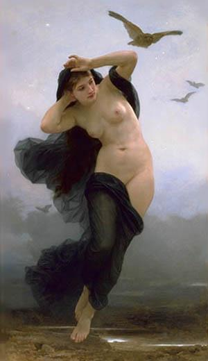 Night - William-Adolphe Bouguereau