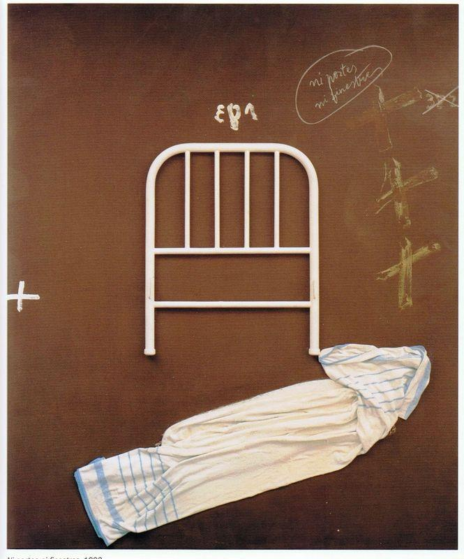 No doors or windows  - Antoni Tapies