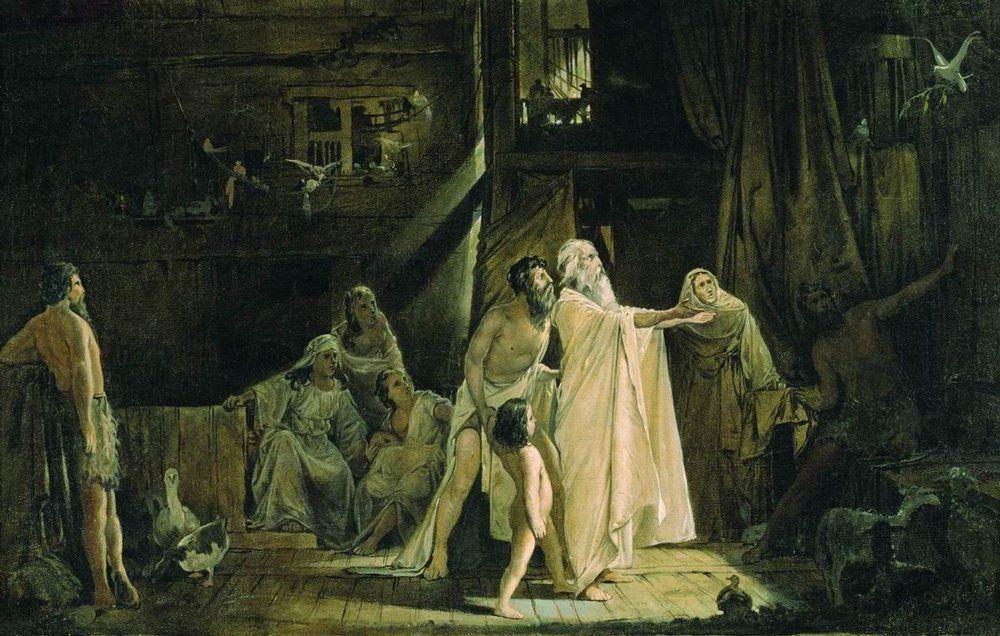 Noah's Ark - Andrei Ryabushkin