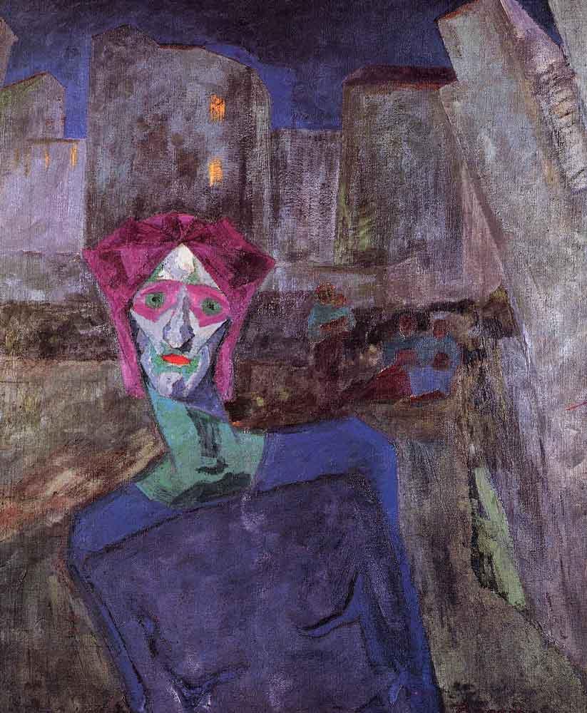 Nocturne - Umberto Boccioni