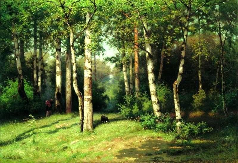 Noon in the Woods - Efim Volkov