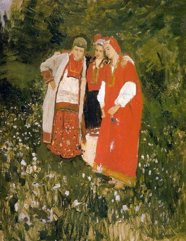 North idilliya - Konstantin Korovin
