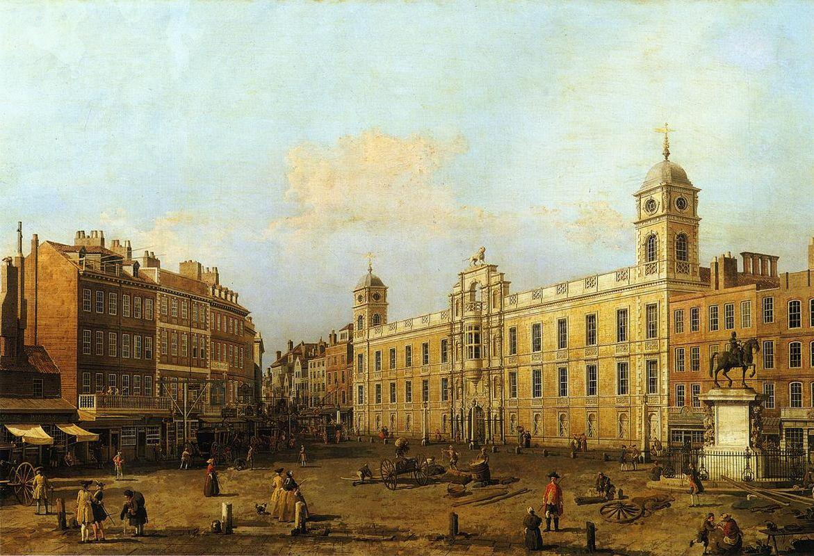 Northumberland House - Canaletto