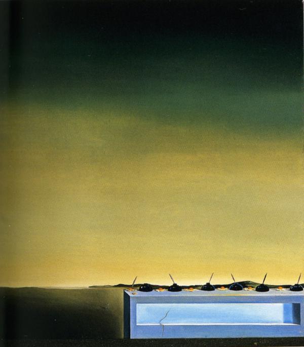 Nostalgia of the Cannibal - Salvador Dali