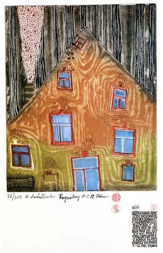 826 Nostalgic Roof - Friedensreich Hundertwasser